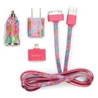 Lilly Pulitzer® 'Trippin & Sippin' iPhone Charging Kit | Nordstrom