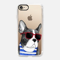 Frenchie Summer Style iPhone 7 Case by Barruf | Casetify