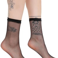 Kick Da Bucket Fishnet Socks