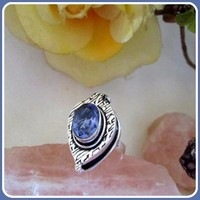 What's Your Poison Amethyst Sterling Silver Ring