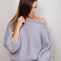 Ring My Bell Sweater {Gray}
