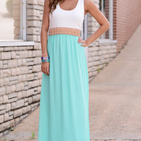 Sweet And Simple Maxi, Mint