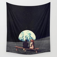 We Used To Live There Wall Tapestry by frankmoth