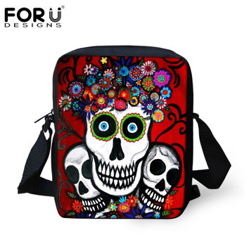 Fashion Children School Shoulder Bags Cartoon Zombie Punk Skull Printed Schoolbag for Boys Girls Students Bookbag Kids Mochilas