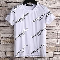 Boys & Men Balenciaga Fashion Casual Shirt Top Tee