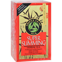 Triple Leaf Tea Super Slimming Herbal Tea - 20 Tea Bags - Case Of 6
