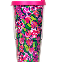 Lilly Pulitzer Insulated Tumbler With Lid- Wild Confetti