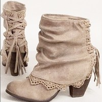 New style hot fashion thick heel mid-tube fashion bootsshoes