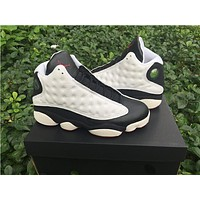 Air Jordan 13 black/white Basketball Shoes 41-47
