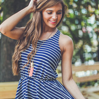 WEB EXCLUSIVE: A Nautical Lifestyle Dress in Navy