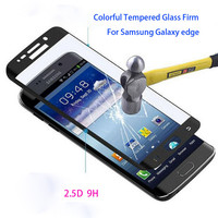 3D Full Coverage Curved Tempered Glass Screen Protector Film Phone Case For Samsung Galaxy S6 Edge/S6 Edge Plus S7 Edge G9350