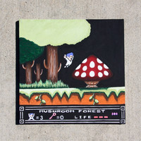 "Little Nemo: The Dream Master 12"" X 12"" painting"