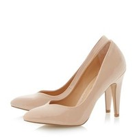 Head Over Heels by Dune Nude pointed toe high heeled court shoe- at Debenhams Mobile