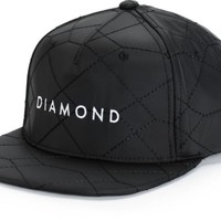 Diamond Supply Co. Stone Cut Quilted Snapback Hat