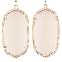 Danielle Rose Gold Earrings in Peach - Kendra Scott Jewelry