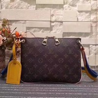 LV Louis Vuitton MONOGRAM CANVAS SHOULDER BAG