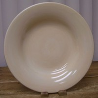 Tabletops Unlimited Espana Cream Colored 1 Dinner Plate
