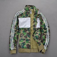 Autumn Men's Fashion Patchwork Camouflage Waterproof Jacket [10824550531]