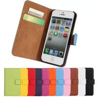 For iPhone 6 5S Flip Case 6S SE 5C Free Capa Leather Mobile Phone Bag Accessory For iPhone 6s Plus Cases Cover Coque Funda