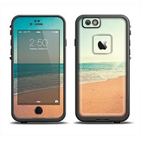 The Vintage Beach Scene Apple iPhone 6 LifeProof Fre Case Skin Set