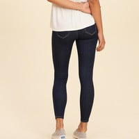Girls Advanced Stretch Low-Rise Crop Jean Leggings | Girls Bottoms | HollisterCo.com