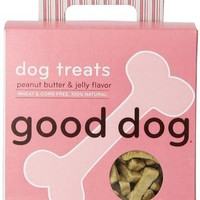 Sojos Good Dog 100% Natural Peanut Butter & Jelly Training Treats 8 oz