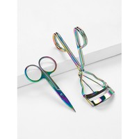 Iridescent Eyelash Curler & Scissors