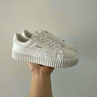 """""""Puma x Fenty Rihanna"""" Women Fashion Casual Solid Color Plate Shoes Sneakers"""
