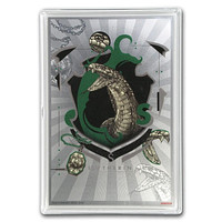 2020 Niue 5 gram Silver $1 Note Harry Potter: House Banners: Slytherin