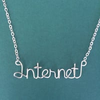 Internet Necklace