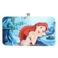 Disney The Little Mermaid Kisslock Hinge Wallet