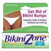 Bikini Zone Medicated Gel, 1 oz (28 g) (Pack of 3)