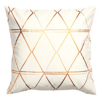 Patterned Cushion Cover - from H&M