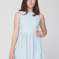 Denim Sun Dress | American Apparel