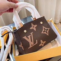 LV Louis Vuitton New Women Shopping Bag Leather Handbag Tote Satchel Crossbody Shoulder Bag
