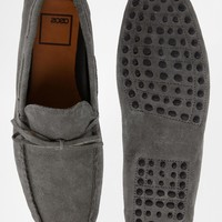 ASOS Driving Shoes in Suede at asos.com