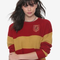 Harry Potter Gryffindor Girls Quidditch Sweater