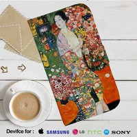 Gustav Klimt The Dancer Leather Wallet iPhone 4/4S 5S/C 6/6S Plus 7| Samsung Galaxy S4 S5 S6 S7 NOTE 3 4 5| LG G2 G3 G4| MOTOROLA MOTO X X2 NEXUS 6| SONY Z3 Z4 MINI| HTC ONE X M7 M8 M9 CASE