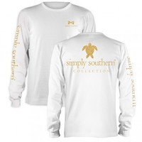 Simply Southern Gold Turtle Longsleeve T-shirt