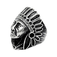 Ancient Tribe Chief Personlized Ring