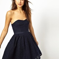 Jack Wills Lace Prom Dress at asos.com