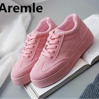 2017 Hot Fashion Shoes Woman Tenis Feminino Women Shoes Casual Ladies Womens Designer Luxury Platform Breathable 3 Color