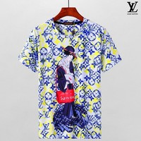 Louis Vuitton Fashion Casual Shirt Top Tee-24