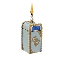 Disney Parks Tomorrowland Trash Can Ceramic Christmas Ornament New with Tags