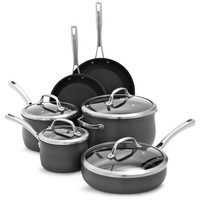 Sur La Table® Hard-Anodized Nonstick 10-Piece Set | Sur La Table