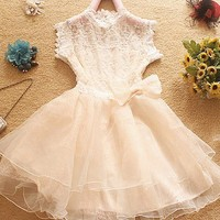High Waisted Lace Skirts