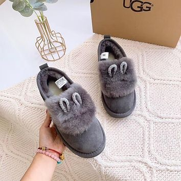UGG Women's Shoes with Rabbit ears
