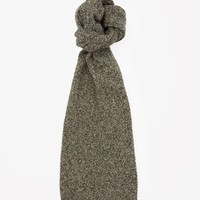 Multi-colour melange scarf - Khaki Green - Hats, Scarves & Gloves - COS IT
