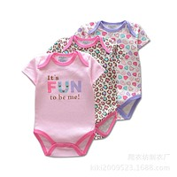 Baby Bodysuits One-Pieces infant clothing Bodysuit cotton newborn baby clothes Jumpsuits Baby