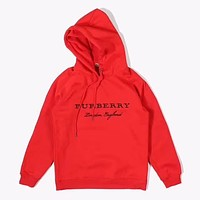 ''BURBERRY'' Women Men Hot Hoodie Cute Sweater